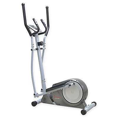 Sunny Health & Fitness® Magnetic Elliptical Trainer in Silver