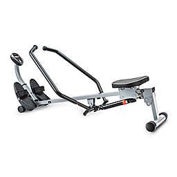 Sunny Health & Fitness® SF-RW1410 Rowing Machine with Full Motion Arms in Grey