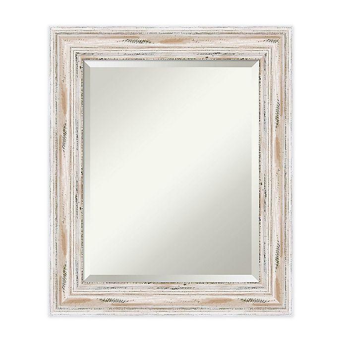 Alternate image 1 for 21-Inch x 25-Inch Alexandria Mirror in Whitewash
