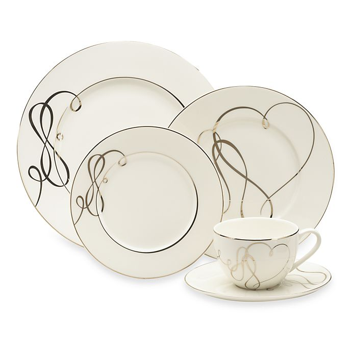Alternate image 1 for Mikasa® Love Story 5-Piece Place Setting