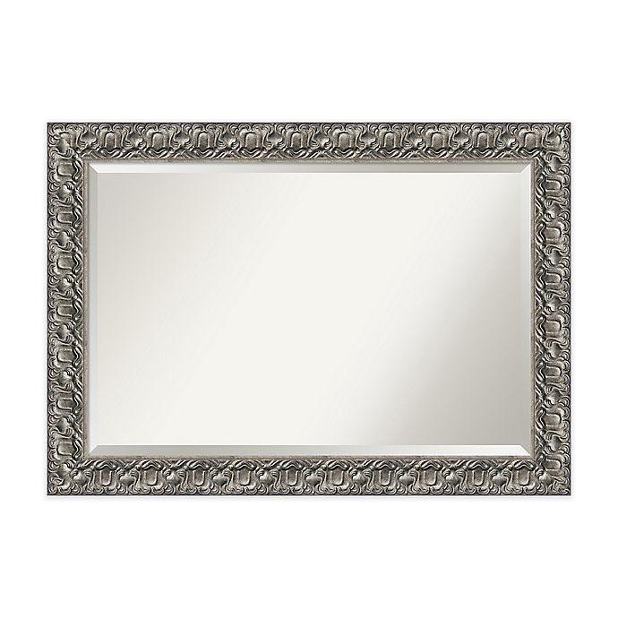 Alternate image 1 for 42-Inch x 30-Inch Luxor Rectangular Mirror in Silver