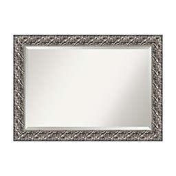 42-Inch x 30-Inch Luxor Rectangular Mirror in Silver