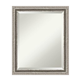 19-Inch x 23-Inch Bel Volto Mirror in Silver