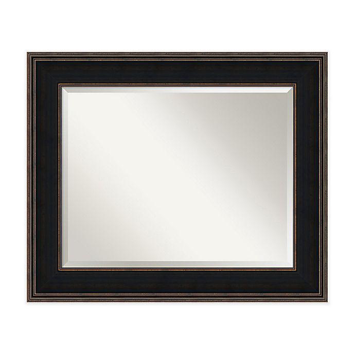 Alternate image 1 for Amanti Art Mezzanine Medium Wall Mirror in Espresso