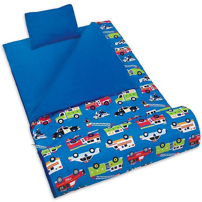 Alternate image 1 for Olive Kids Heroes 3-Piece Sleeping Bag Set in Blue