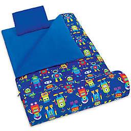Olive Kids Robots 3-Piece Sleeping Bag Set in Blue