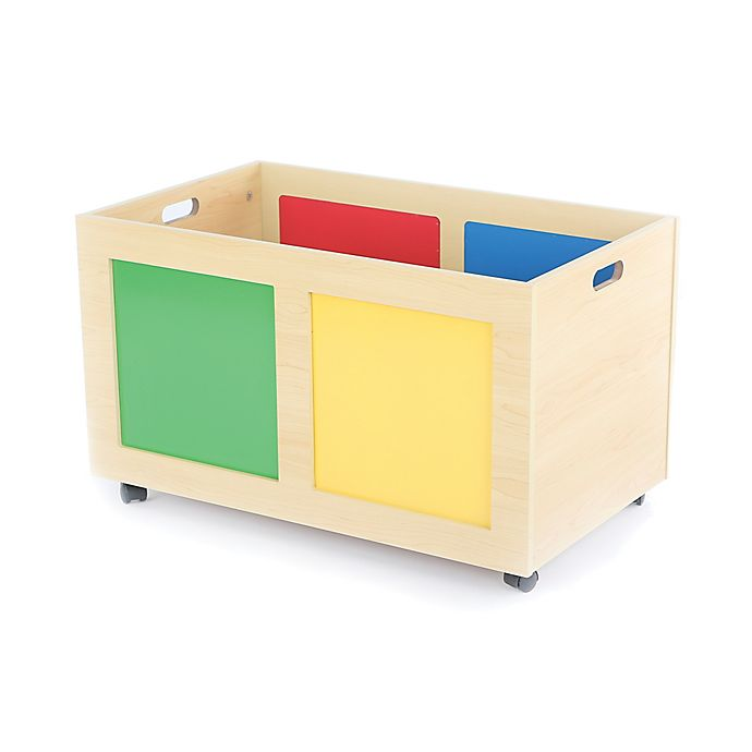 Alternate image 1 for Tot Tutors Rolling Toy Chest
