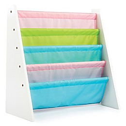 Tot Tutors Child's 4-Pocket Multicolor Book Rack