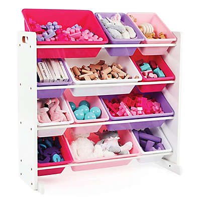 Tot Tutors Toy Organizer in Pink/Purple