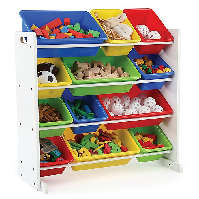 Alternate image 1 for Tot Tutors Toy Organizer in White