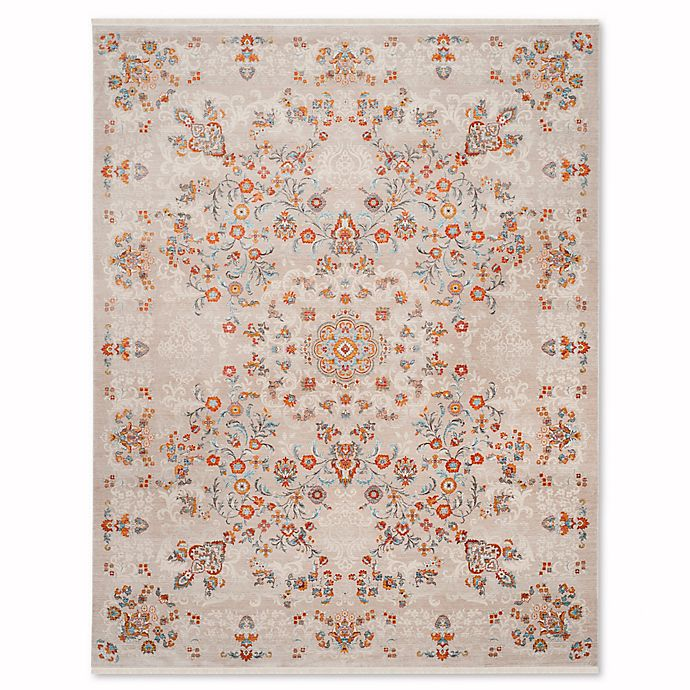 Alternate image 1 for Safavieh Vintage Persian Leonidas 6-Foot x 9-Foot Area Rug in Grey/Multi