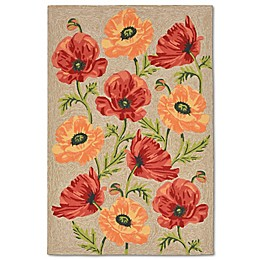 Liorra Manne Ravella Icelandic Poppies Indoor/Outdoor Area Rug