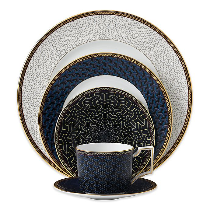 Alternate image 1 for Wedgwood® Byzance 5-Piece Place Setting