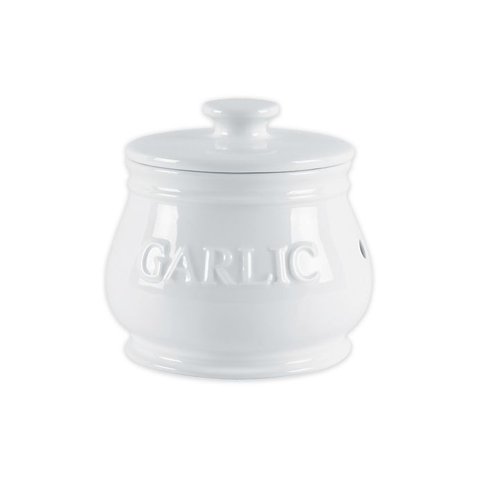 Alternate image 1 for Everyday White® by Fitz and Floyd® Bistro Garlic Keeper