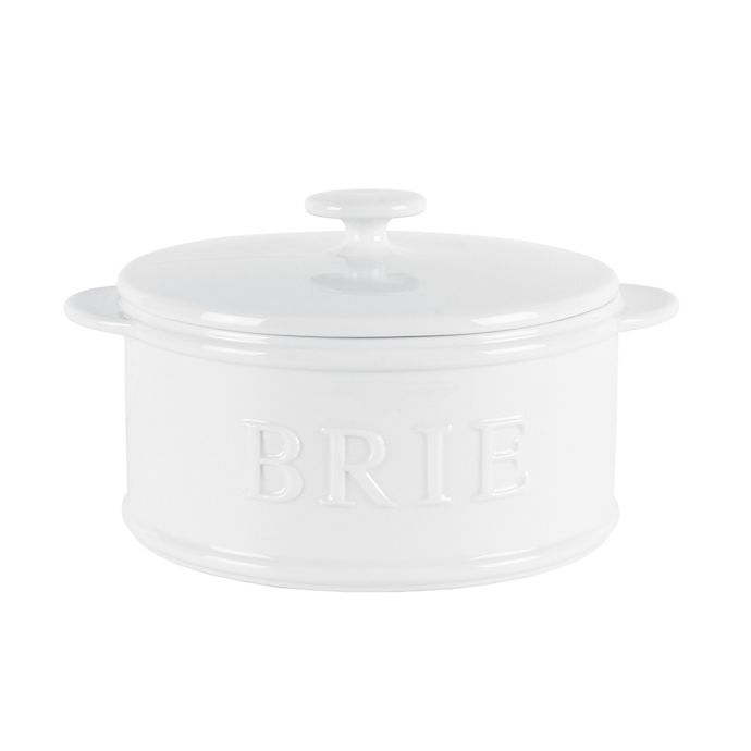 Alternate image 1 for Everyday White® by Fitz and Floyd® Bistro Brie Baker in White