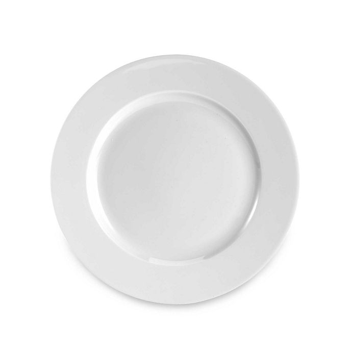 Alternate image 1 for Everyday White® by Fitz and Floyd® Rim Salad Plates(Set of 12)