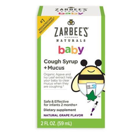 Zarbee S 174 2 Oz Naturals Baby Cough Syrup Mucus In