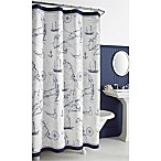 Cape Island 72-Inch x 72-Inch Shower Curtain