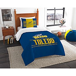 Toledo University Modern Take Comforter Set