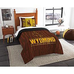 University of Wyoming Modern Take Comforter Set