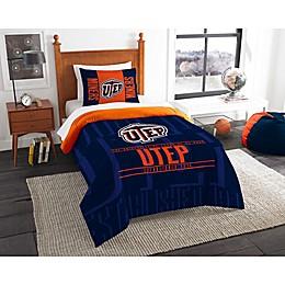 University of Texas El Paso Modern Take Comforter Set