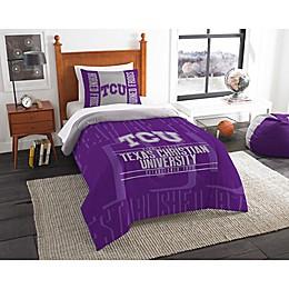 Texas Christian University Modern Take Comforter Set