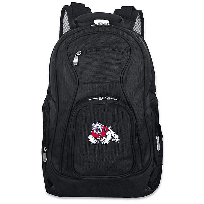 Alternate image 1 for California State University, Fresno 19-Inch Laptop Backpack