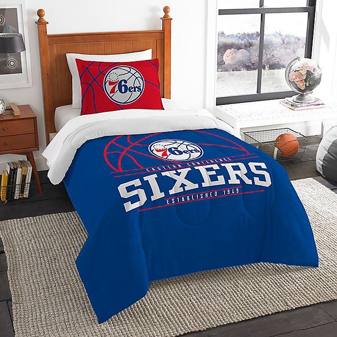71b162436836 NBA Philadelphia 76ers Twin Comforter Set