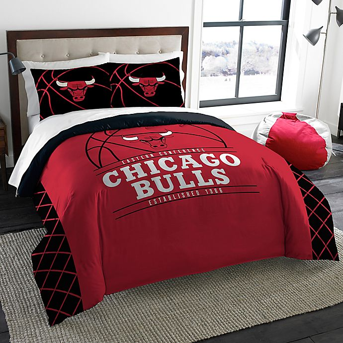 Nba Chicago Bulls Comforter Set