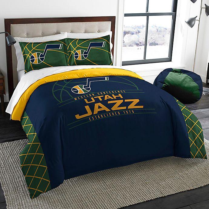 NBA Utah Jazz Reverse Slam Comforter Set   Bed Bath & Beyond