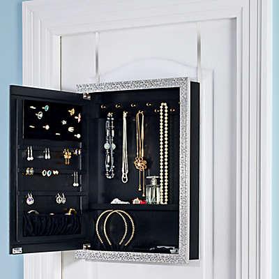 Door Solutions™ Over-the-Door Mirror Jewelry Organizer