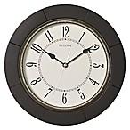 Bulova Deco Wall Clock in Espresso