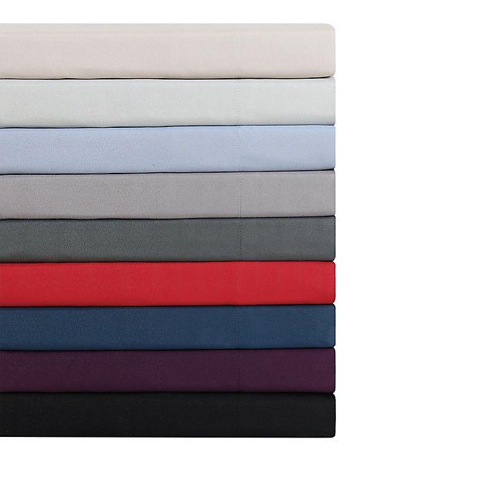 London Fog Solid Sheet Set Bed Bath Beyond