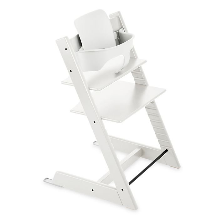Alternate image 1 for Stokke® Tripp Trapp® Baby Set™ in White