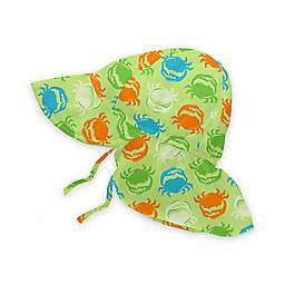 i play.® Crab Flap Sun Hat in Light Green