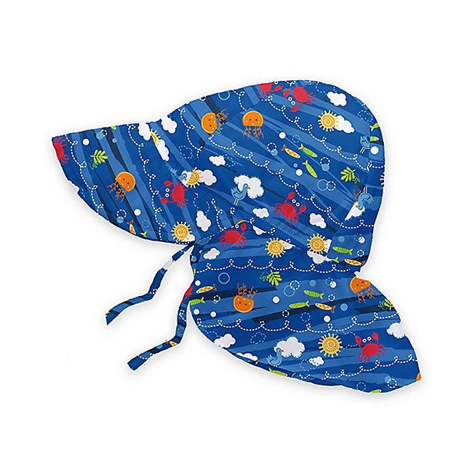 i play.® Sea Friends Flap Sun Hat in Royal Blue  ab9e419eae75