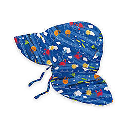 i play.® Sea Friends Flap Sun Hat in Royal Blue
