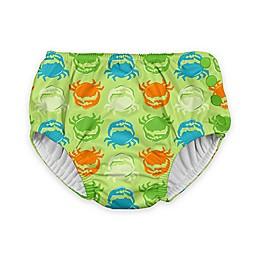 i play.® Crab Ultimate Swim Diaper in Light Green