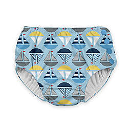 i play.® Sailboats Ultimate Swim Diaper in Light Blue
