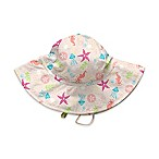 i play.® Sea Life Size 9-18M Brim Sun Hat in Coral