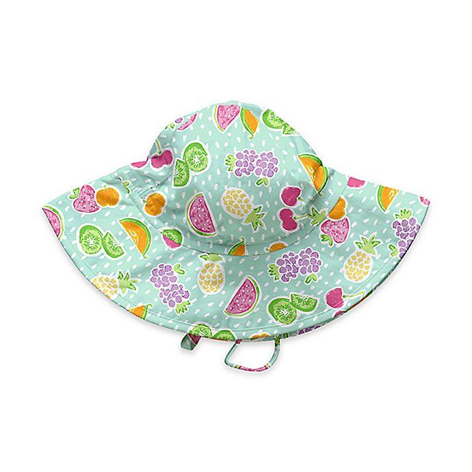 Alternate image 1 for i play.® Fruit Brim Sun Hat in Light Green