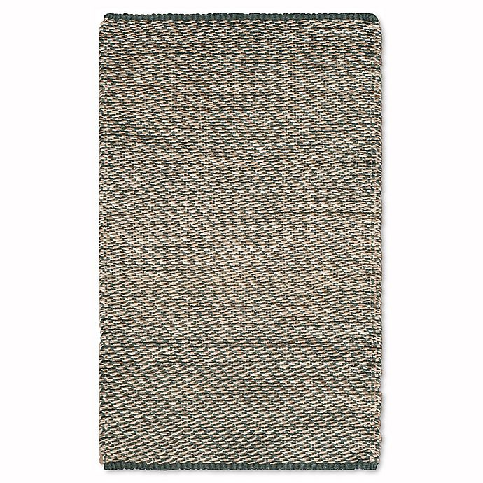 Alternate image 1 for Safavieh Natural Fiber Gillian Rug in Blue/Natural