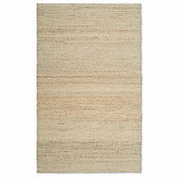 Safavieh Natural Fiber Galina 6-Foot x 9-Foot Area Rug in Natural/Green