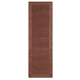 Safavieh Tiffany 3-Foot 5-Inch x 8-Foot Area Rug in Brown/Rust