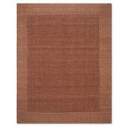 Safavieh Tiffany 8-Foot x 10-Foot Area Rug in Brown/Rust