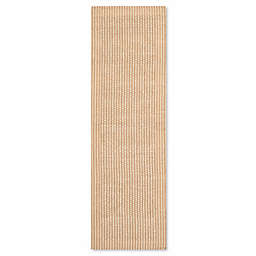 Safavieh Natural Fiber Collection Gia 2-Foot 6-Inch x 14-Foot Runner in Ivory/Beige