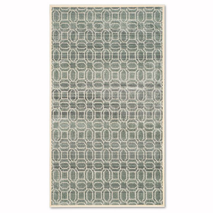 Alternate image 1 for Safavieh Paradise Watercolor 2-Foot 7-Inch x 4-Foot Rug in Cream