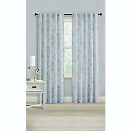 Wamsutta® Margate 95-Inch Rod Pocket Light Filtering Window Curtain Panel in Illusion Blue