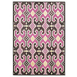 Safavieh Paradise Vertical 5-Foot 3-Inch x 7-Foot 6-Inch Rug in Fuchsia/Purple