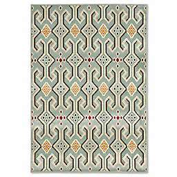 Safavieh Paradise Vertical 5-Foot 3-Inch x 7-Foot 6-Inch Rug in Blue